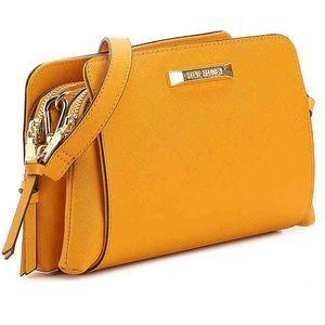 NEW! STEVE MADDEN Crossbody Bag in Mustard Yellow